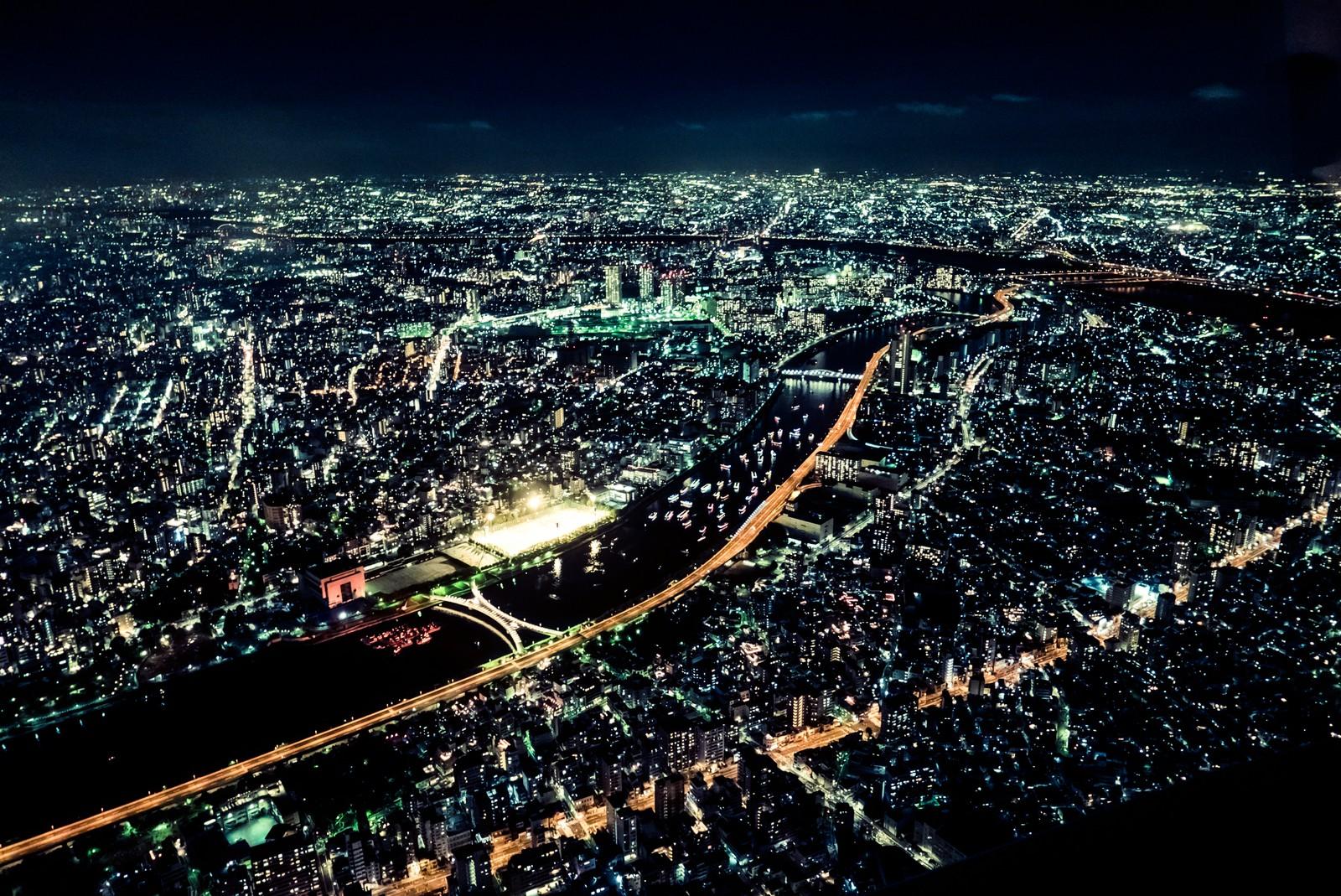 東京湾夜景1